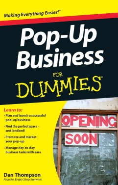 Pop Up Business For Dummies Cover