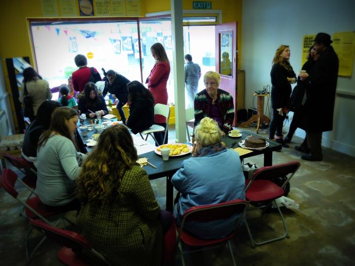 Tea party at Workshop 24