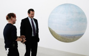 Ed Vaizey at Turner Contemporary, Margate  © Robert Canis